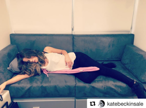 Kate Beckinsale enjoying her YuYu